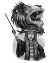 Harry Potter y la Orden del Fénix - Ilustración capítulo 19