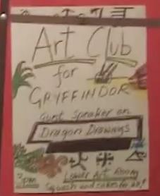 Club de Arte de Gryffindor
