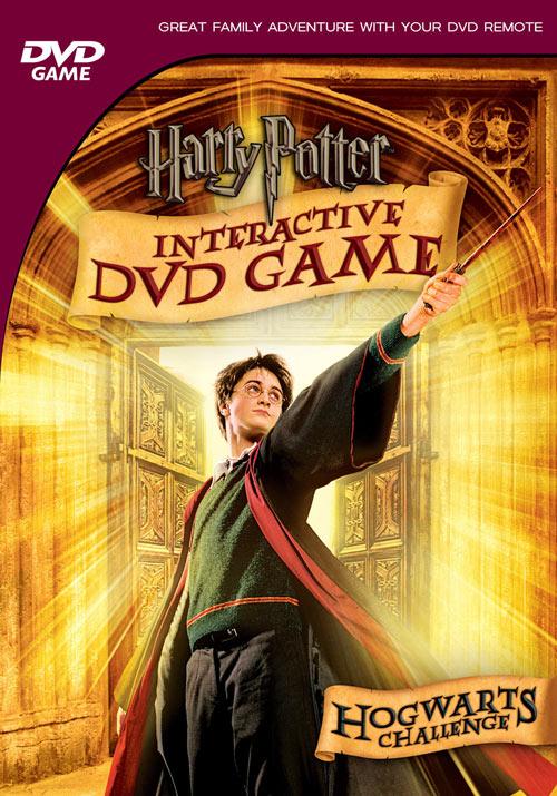 Juego DVD interactivo de Harry Potter: Reto Hogwarts