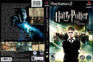 V5 Carátula de Harry Potter y la Orden del Fénix (PS2 - EU)