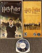 V5 Carátula de Harry Potter y la Orden del Fénix (PSP)