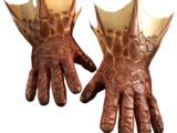 Guantes de piel de dragón