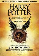 Harry Potter y el legado maldito (portada Francia)