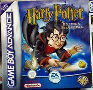 V1 Carátula de Harry Potter y la piedra filosofal (GBA)