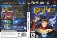 V1 Carátula de Harry Potter y la piedra filosofal (PS2)