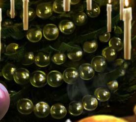 Hechizo creador de burbujas doradas