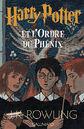 Harry Potter y la Orden del Fénix portada francesa