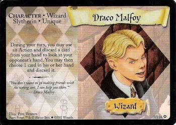 Draco Malfoy (Carta - Común)