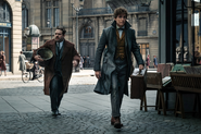 Jacob and Newt in Paris