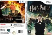 V5 Carátula de Harry Potter y la Orden del Fénix (Wii - PAL)