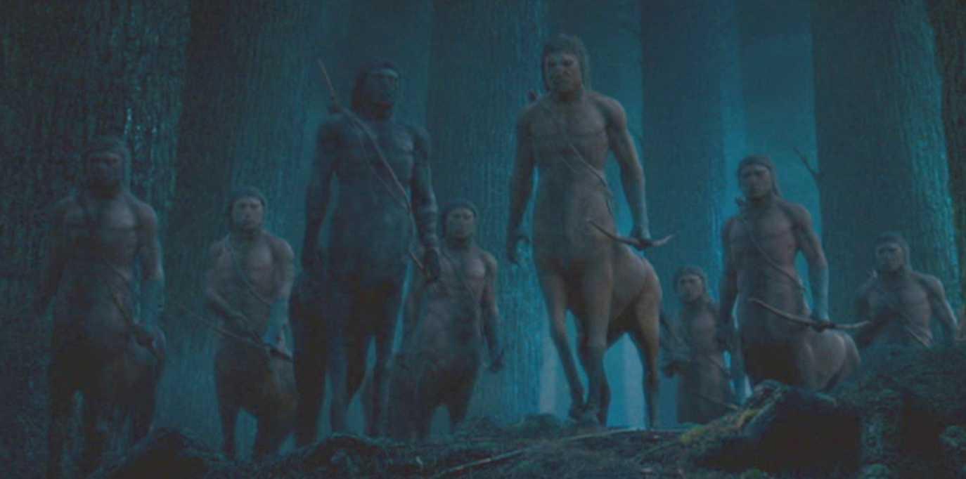 Colonia de centauros del Bosque Prohibido