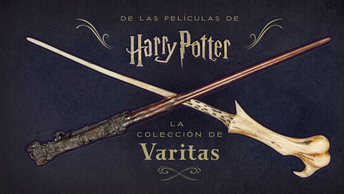 Harry Potter: La colección de las varitas
