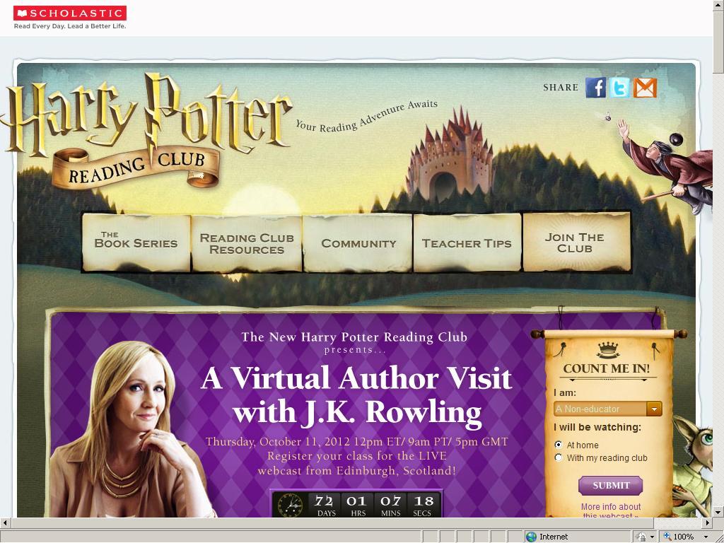 Club de Lectura de Harry Potter