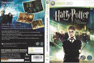 V5 Carátula de Harry Potter y la Orden del Fénix (Xbox)