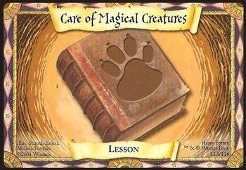 Cuidado de las criaturas mágicas (Carta)