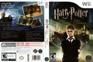 V5 Carátula de Harry Potter y la Orden del Fénix (Wii )