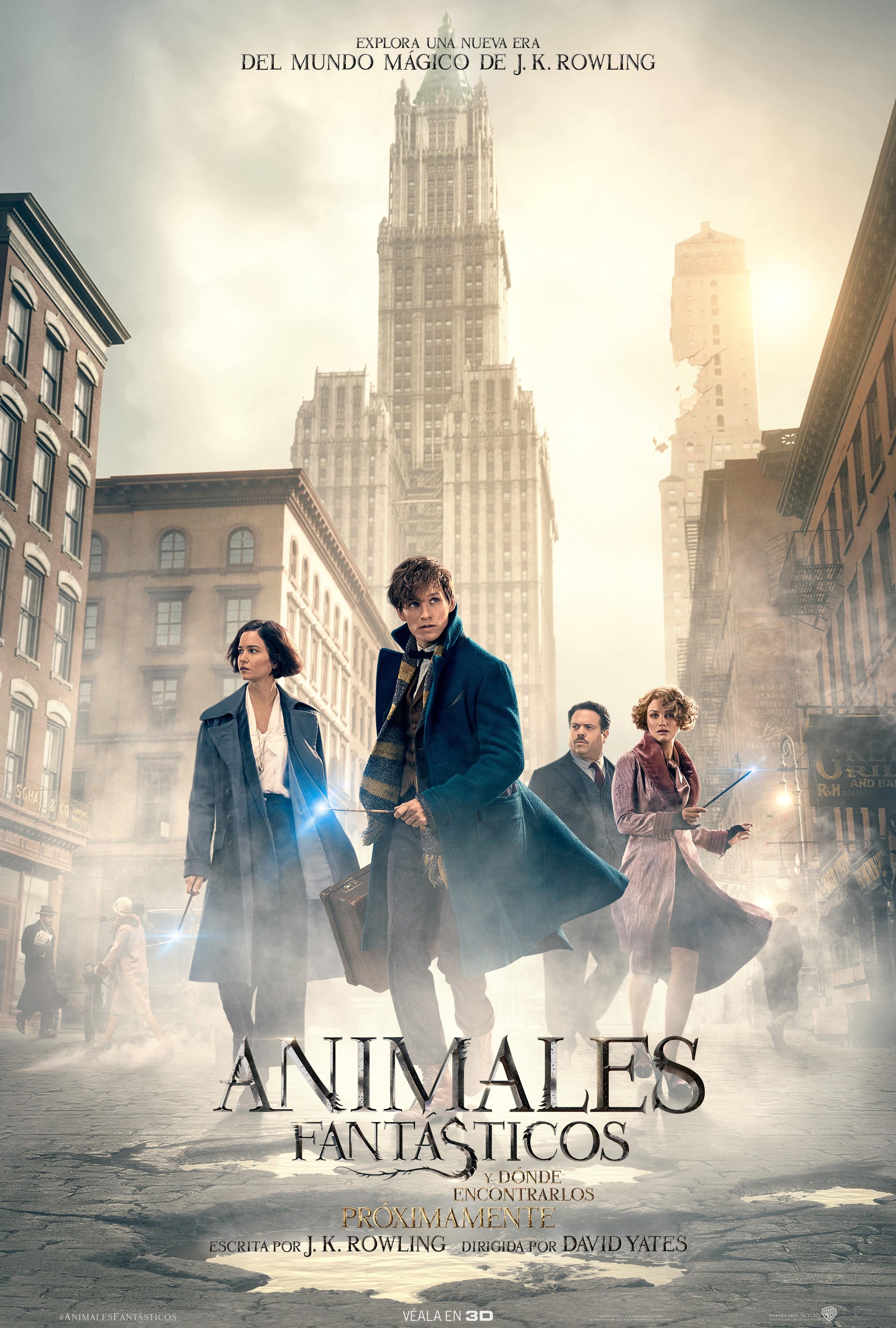 Animales fantásticos y dónde encontrarlos (película)