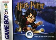 V1 Carátula de Harry Potter y la piedra filosofal (GBC)