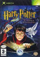 V1 Carátula de Harry Potter y la piedra filosofal (Xbox)