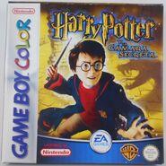 V2 Carátula de Harry Potter y la cámara secreta (GBC)
