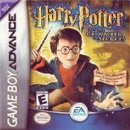 V2 Carátula de Harry Potter y la cámara secreta (GBA)