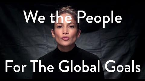 'We The People' for The Global Goals