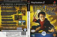 V2 Carátula de Harry Potter y la cámara secreta (PS2)