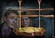 Réplica de las varitas de Fred y George Weasley
