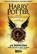 Harry Potter y el legado maldito (portada Alemania)