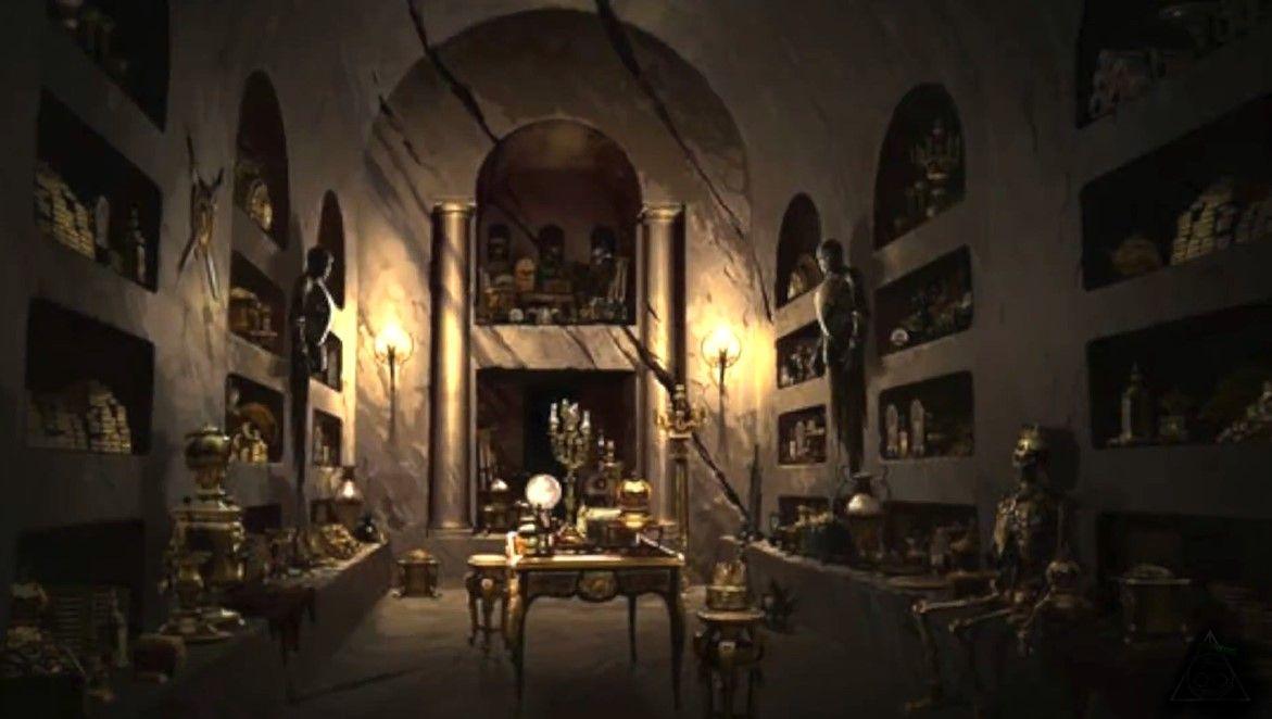 Bóveda de la familia Lestrange