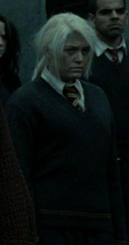 Chica de Gryffindor no identificada durante la Batalla de Hogwarts