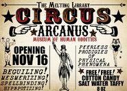 AF1 Cartel publicitario del circo 1