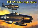 Dragon Models 1/72 5080 F6F-5N Hellcat Night Fighter