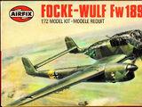 Airfix 1/72 02037 Focke-Wulf Fw 189A-2