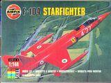 Airfix 1/144 00106 F-104 Starfighter