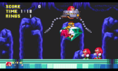 Knuckles the echidna in knuckles the echidna and knuckles 3