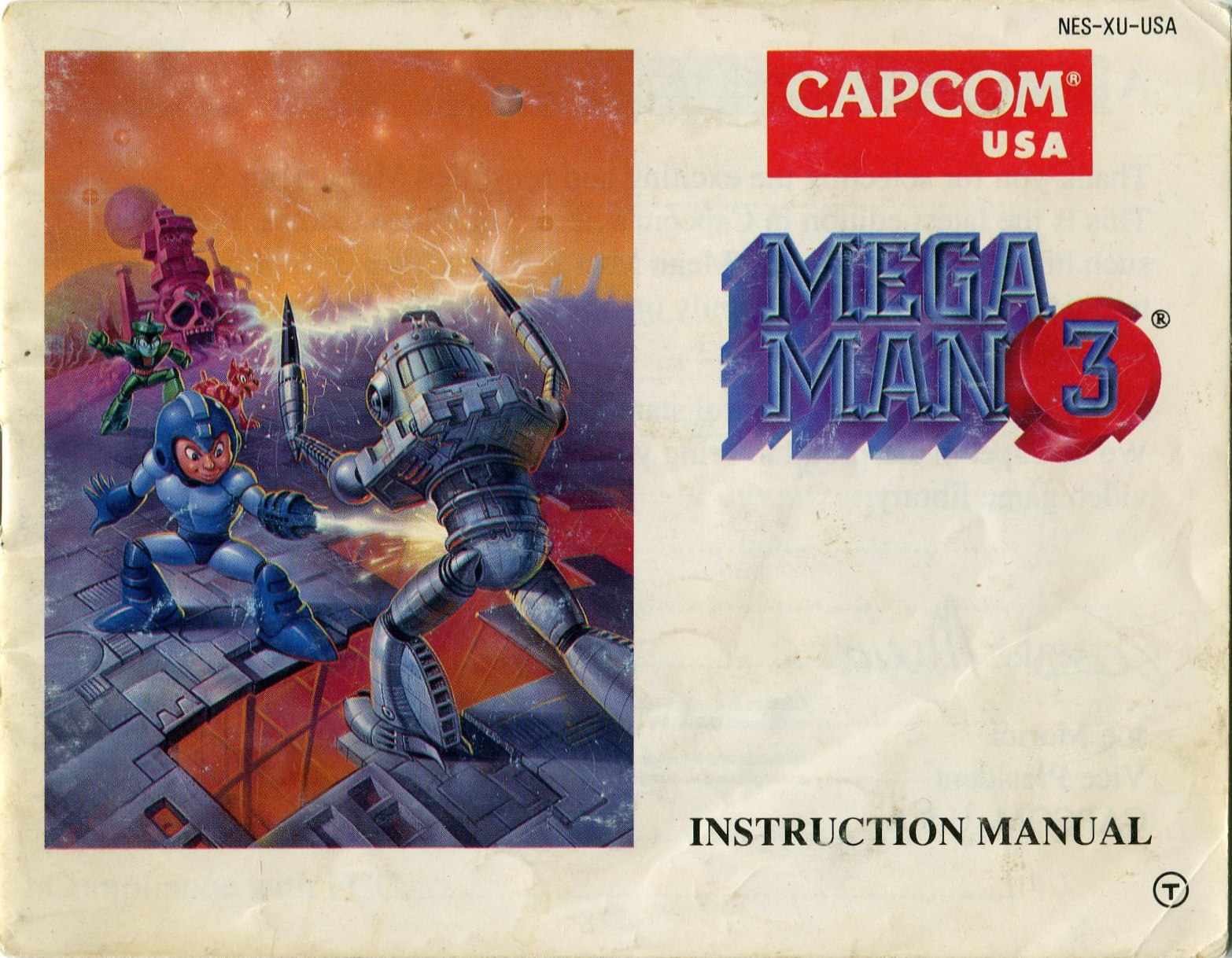 Manual de Mega Man 3