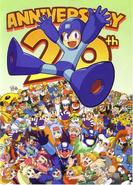 Megaman 20 anversario