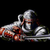 Joe Musashi Shinobi III centered sprite