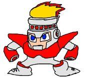 Fire man 8 bits HD