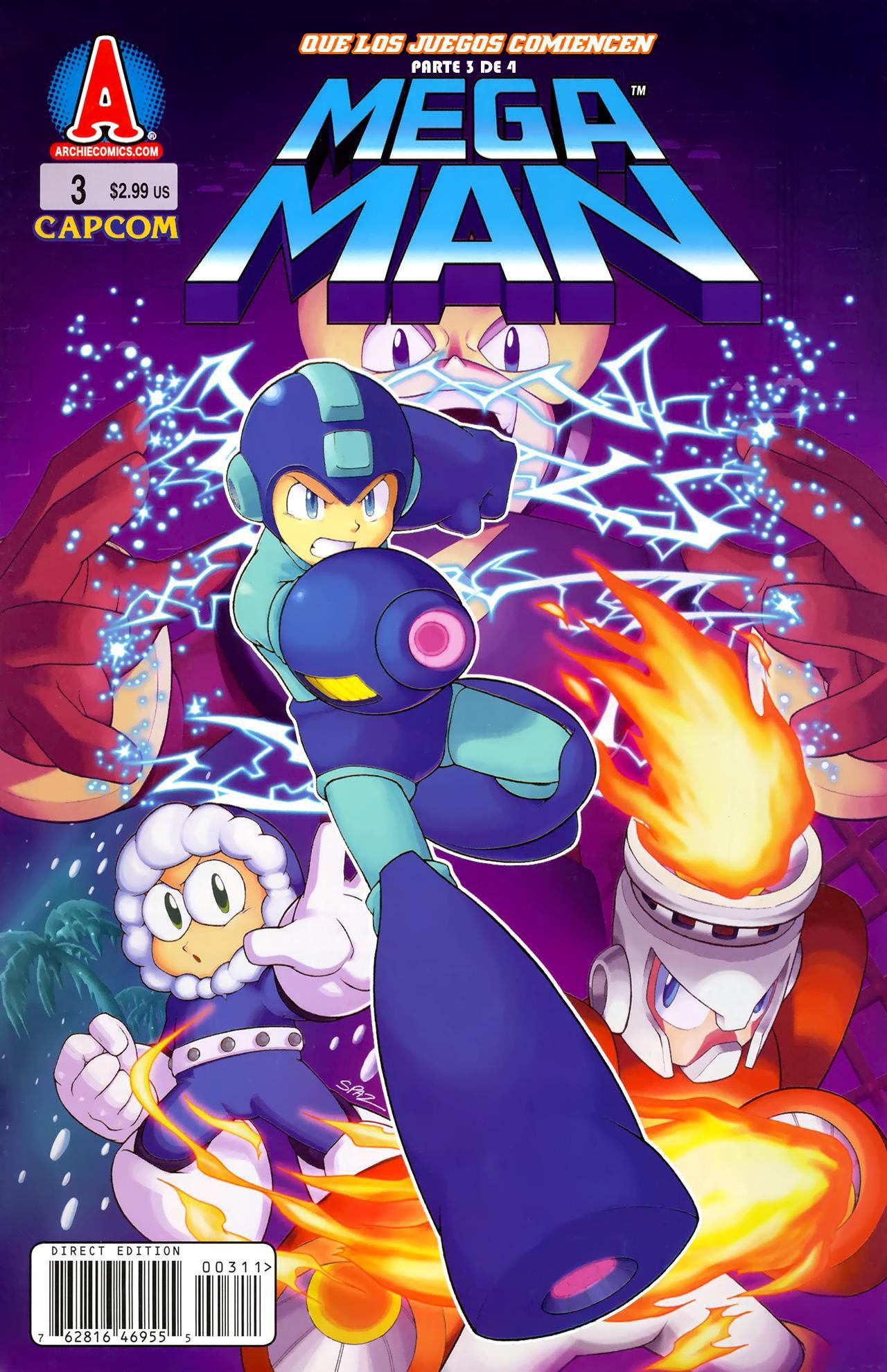 Mega Man No. 003