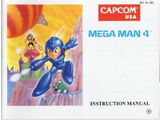 Manual de Mega Man 4