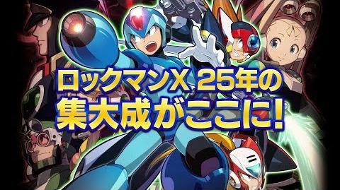 Trailer de Rockman X Anniversary Collection 1 y 2