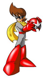 Helmetless Protoman