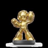 MMLC Mega Man gold amiibo