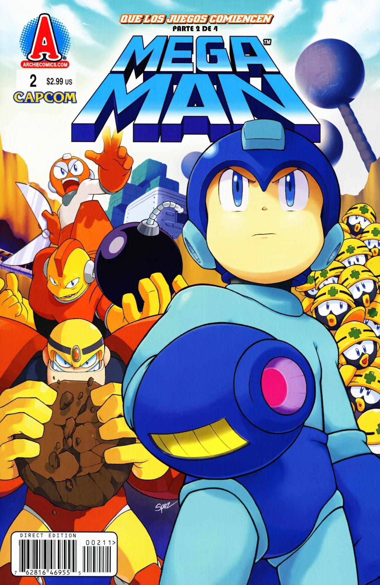 Mega Man No. 002