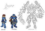 Megaman trigger forms