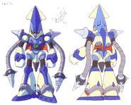 Art-concept squid