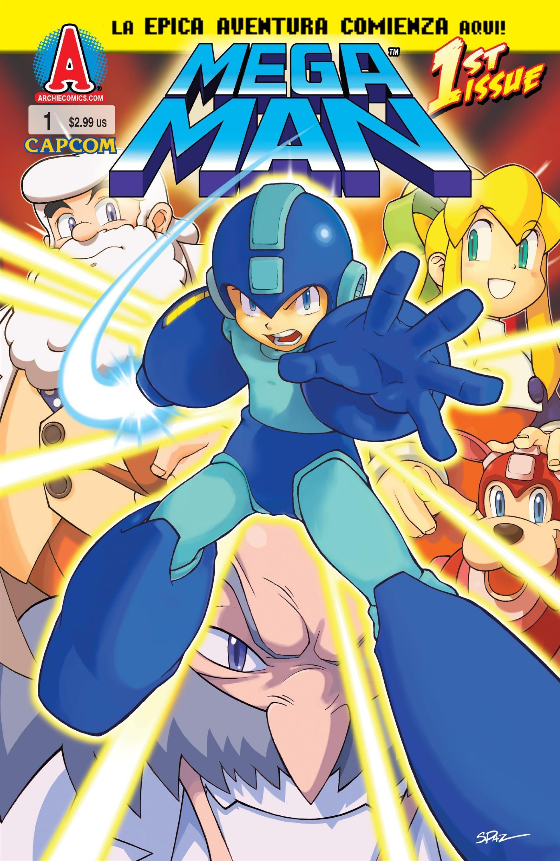 Mega Man No. 001