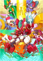Mega Man ZX complete promo art.jpg